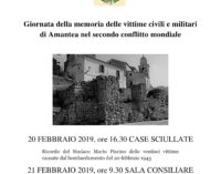 Giornata della memoria 20 – 21 febbraio 2019