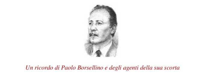 Via D'Amelio 19 luglio 1992 – 27 anni dopo. Un ricordo di Paolo Borsellino e degli agenti della sua scorta.