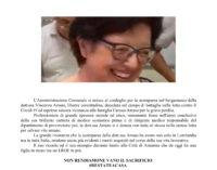 In ricordo della Dott.ssa Vincenza Amato