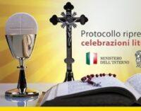 Applicazione delle misure di contenimento e di gestione dell'emergenza epidemiologica da COVID-19 previste dal DPCM del 26 aprile 2020. Protocollo riguardante la graduale ripresa delle celebrazioni liturgiche con il popolo.