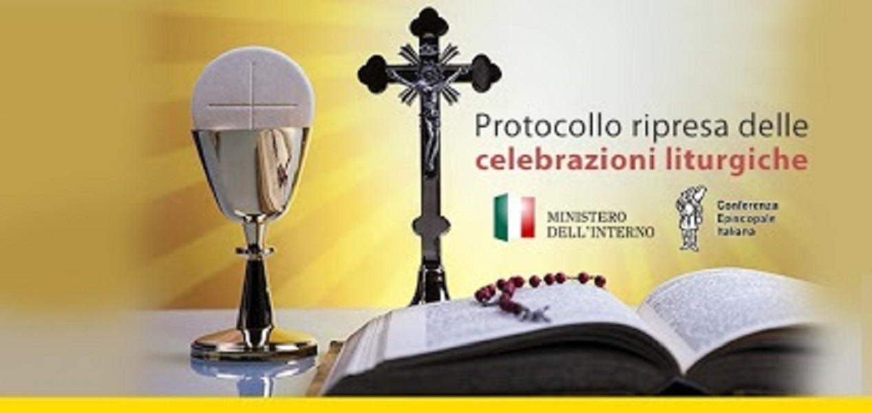 Applicazione delle misure di contenimento e di gestione dell'emergenza epidemiologica da COVID-19 previste dal DPCM del 26 aprile 2020. Protocollo riguardante la graduale ripresa delle celebrazioni liturgiche con il popolo dal 18.05.2020