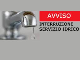 Avviso interruzione erogazione acqua Frazione Campora S.G. giorno 19 novembre 2020